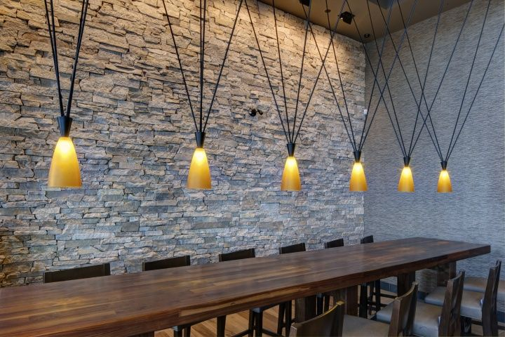 P.F. Chang restaurant by Aria Group Architects  Bloom Lighting Group, Laval – Canada