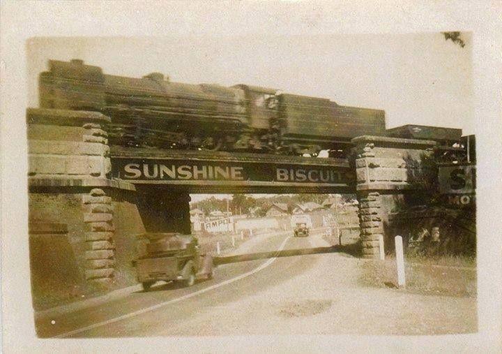 Skew bridge north Castlemaine
