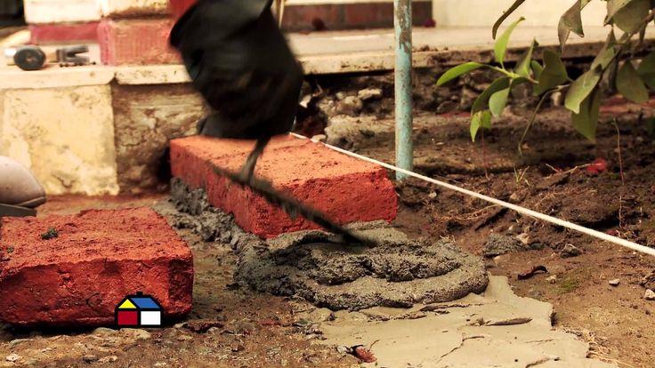 C mo hacer una jardinera de ladrillos proyectos que - Como hacer una jardinera ...