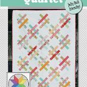 Quartet quilt pattern - via @Craftsy
