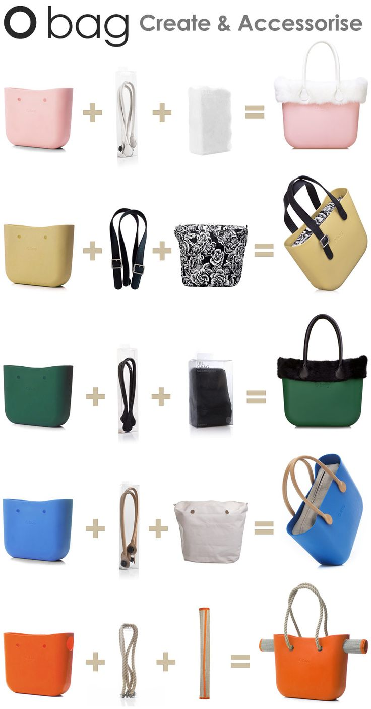 Create Your Own Fullspot O Bag Bellissime, personalizzabili, estate e inverno Costose ma davvero chic :-)