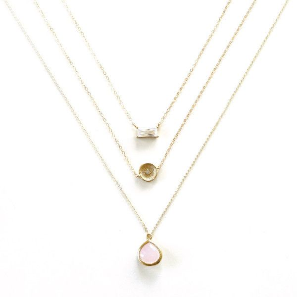 Gold Layer Necklace, Gold Necklace, Simple Minimal Necklace, 14k Gold... (273.840 IDR) ❤ liked on Polyvore featuring jewelry, necklaces, gold layered necklace, 14 karat gold necklace, thin gold chain necklace, 14k gold filled jewelry and 14k gold filled necklace
