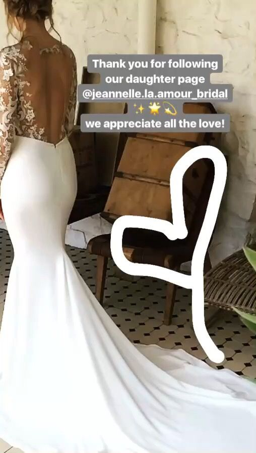 #aubreygown #jeannellelaamour #bridal #2017