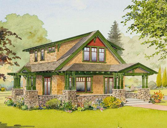 592 Best Craftsman Homes Images On Pinterest