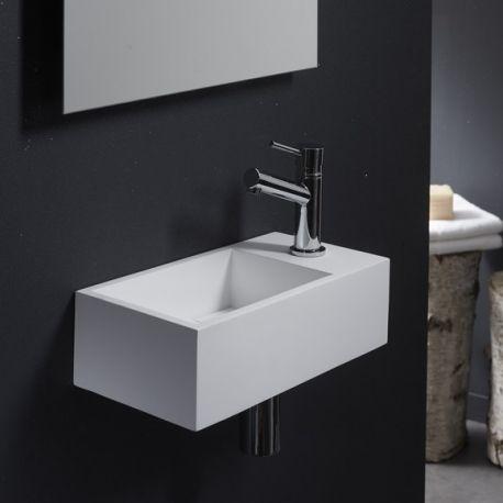 Une nouveauté chez Planetebain.com, ce superbe lave-mains blanc en solid surface de qualité. Commandez-le vite sur notre boutique en ligne.