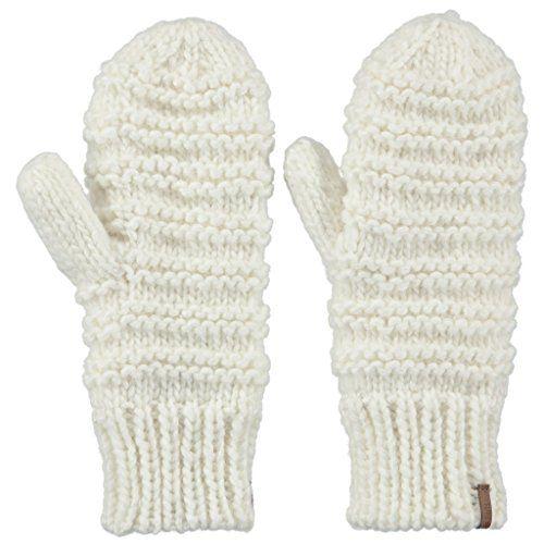 7e566eca0d3 B-Arts Barts womens Barts Ladies Jasmin Acrylic Wool Polyester Mitts  Mittens Gloves Grey