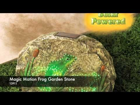 Magic Motion Frog Garden Stone