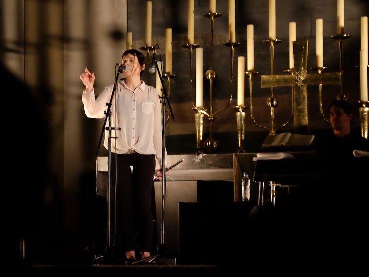 Melanie de Biasio - Live in der St. Matthäus Kirche, München - https://www.musikblog.de/2017/11/melanie-de-biasio-live-in-der-st-matthaeus-kirche-muenchen/ #MelanieDeBiasio