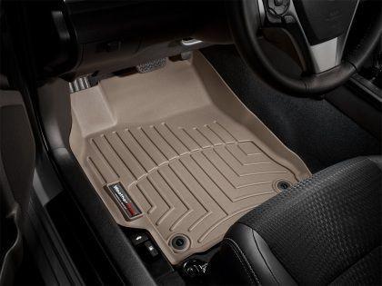 WeatherTech 2008-2012 Lexus ES350 Base V6 Front FloorLiner Mats - Tan