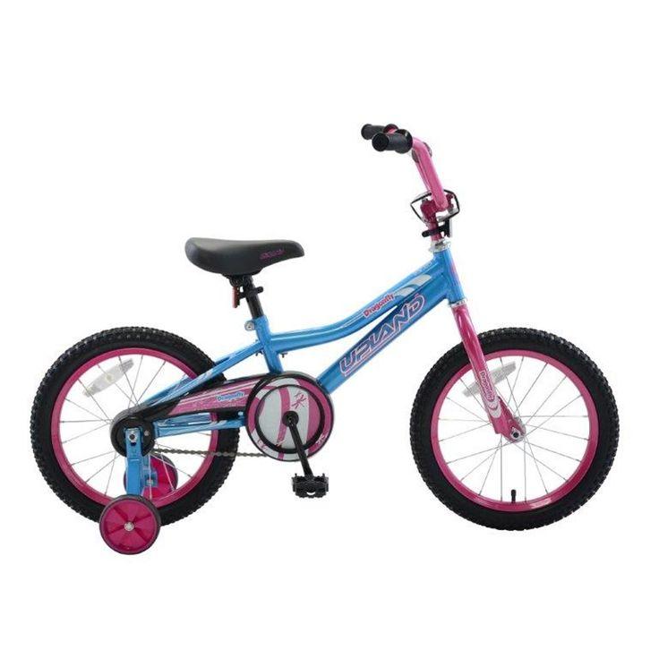 """Upland Dragonfly 16"""" Girls Bike"""