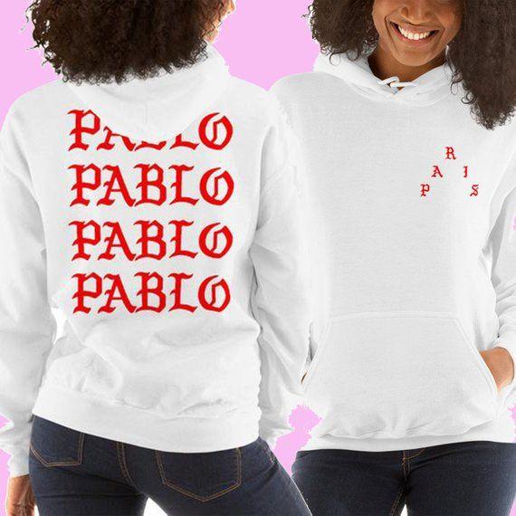 Paris I Feel Like Pablo Unisex Heavy Blend Hooded Sweatshirt Hoodie Kanye West Merch Tlop In Hoodies Womens Fashion Hooded Sweatshirt Hoodie Long Sleeve Hoodie