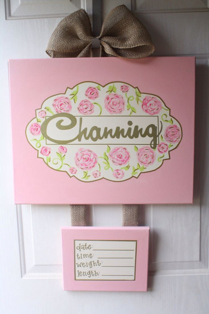 17 best images about baby on pinterest baby girls birth for Baby girl hospital door decoration