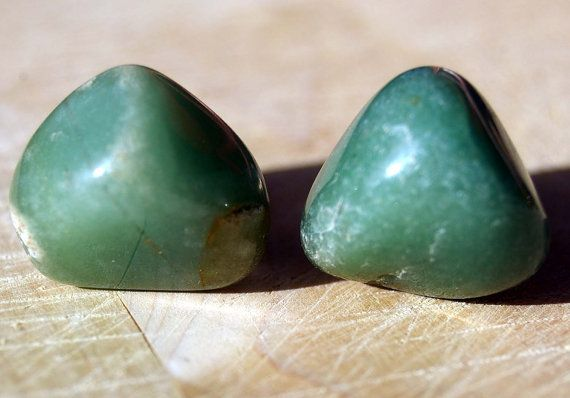 Cabinet Knobs - Green Aventurine  - Set of 2, Stone Cabinet Knobs, Kitchen Knobs and Pulls $12.00