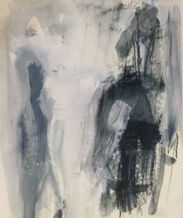 "Saatchi Art Artist Cynthia Gregor; Drawing, ""Man in the shadow"" #art"