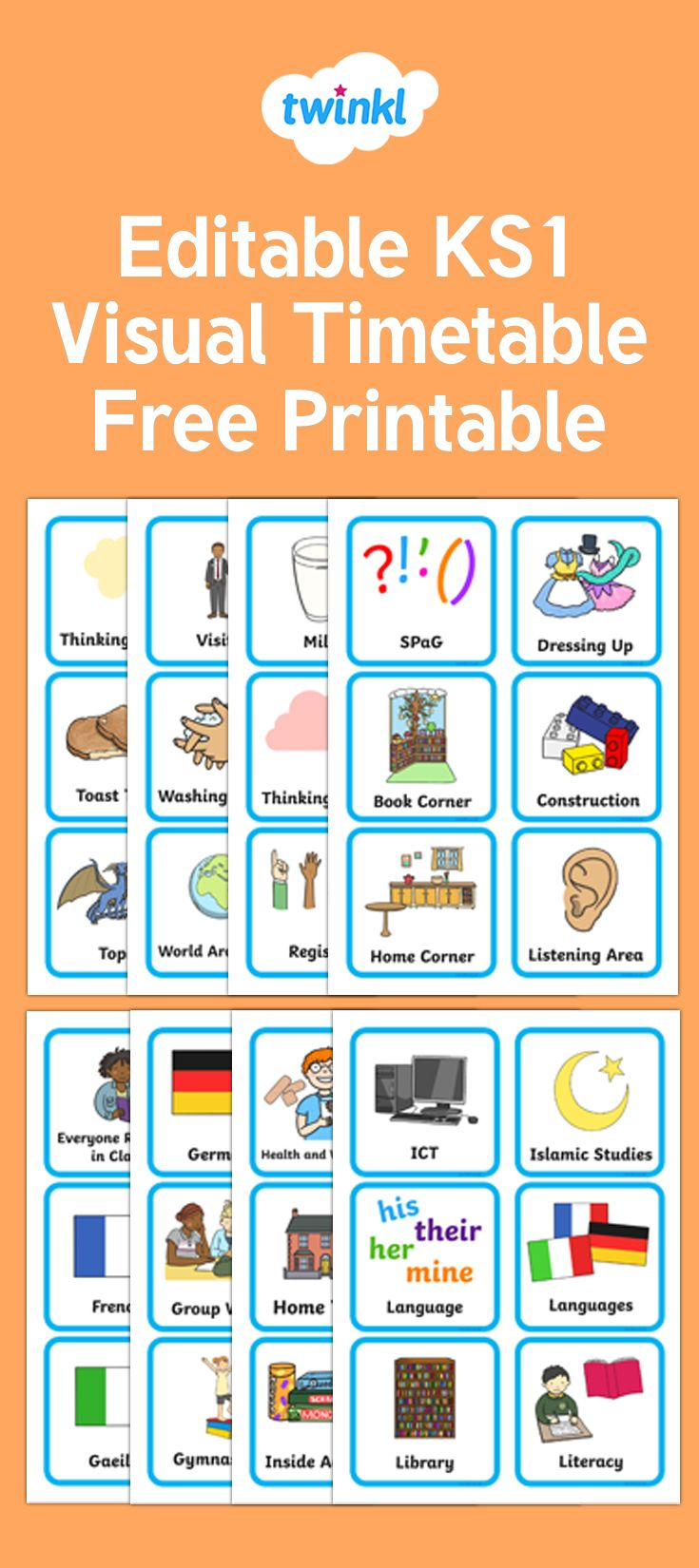 A Visual Timetable Enable Pupils To Understand What They Are Doing