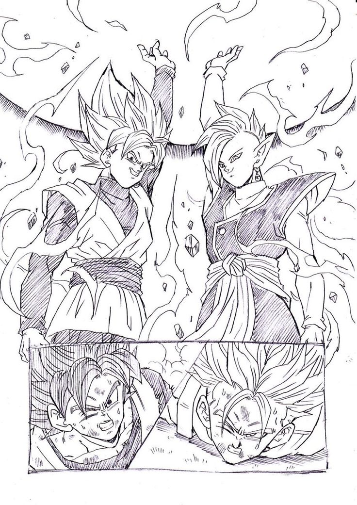 """The end is near"" drawn by: Young Jijii. found by: #SonGokuKakarot"