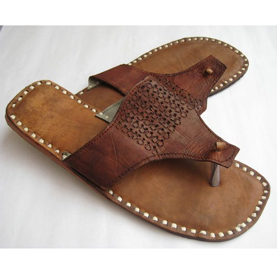 Mens Flat Sandals, Handmade by FootSoles.