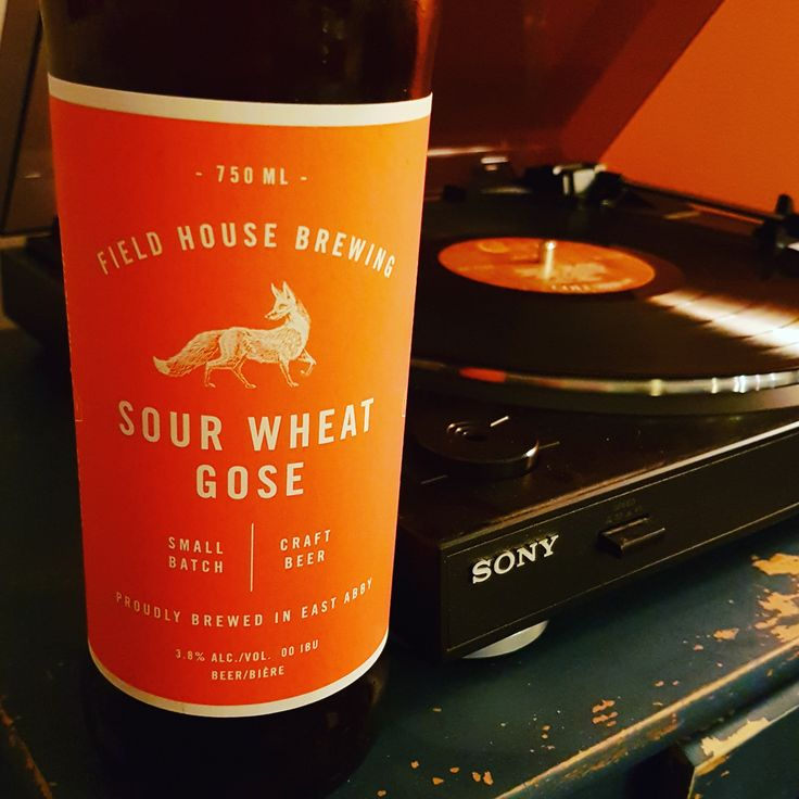 The ironic thing about the Sour Wheat Gose is that it says right on the bottle that Field House Brewing's beer is meant to share with friends. There's no way in hell I'd waste this beer on my friends. They can drink whatever swill they can find as long as I can have this one to myself.