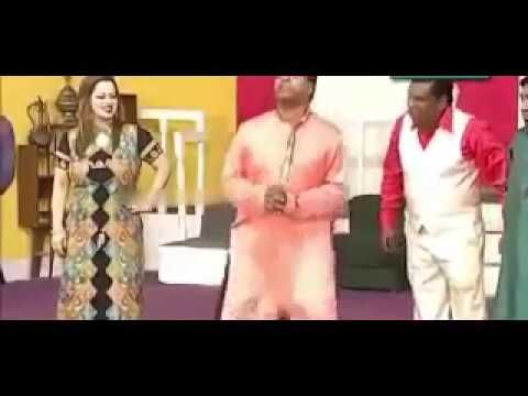 Best Comedy Of Amanat Chan, New Punjabi Comedy Stage Drama 2017