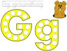 Groundhog's Day Bingo Dauber Coloring Pages from DLTK's Crafts for Kids