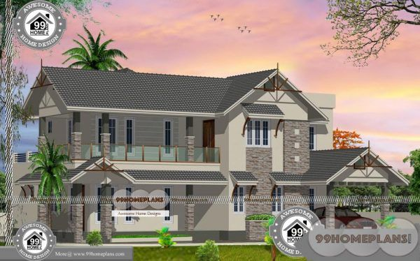 Beautiful Bungalow House Plans With Double Floor Traditional Collections Bungalow House Plans Free House Plans House Plans