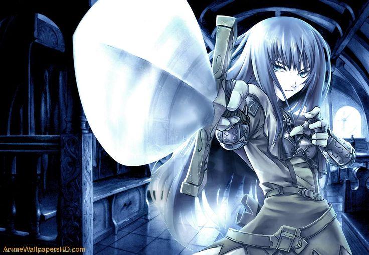 anime girl warior | Warrior girl wallpaper