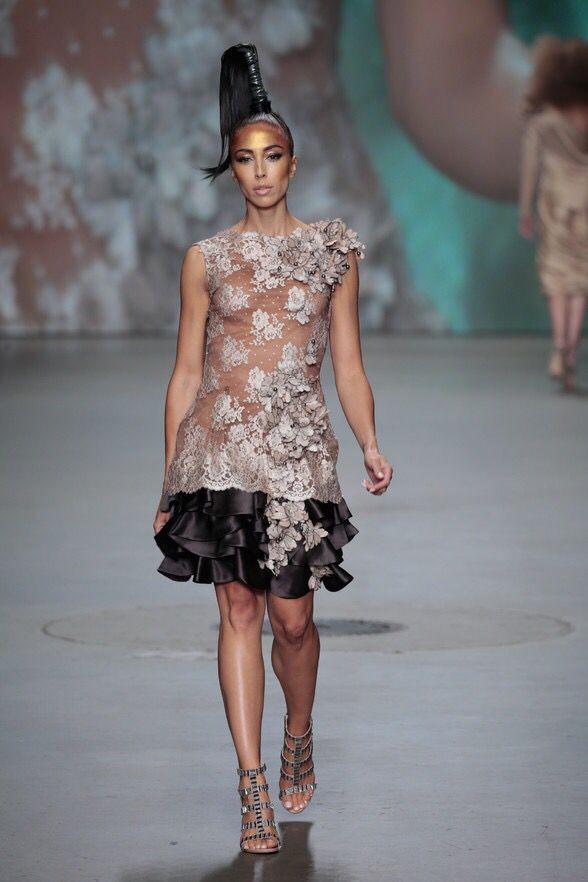 Monique Collignon Haute Couture Winter 2015 Model: Barbara Kroes