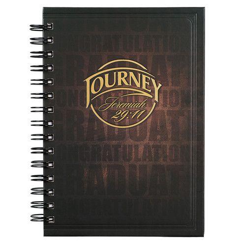 "The ""Journey"" Hardcover Wirebound Journal (Jer 29:11)"