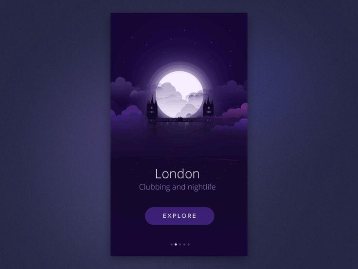 City intro animation - UI Interactions