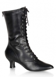 Victoriana mid calf boots UK 5.5 from Gothic Clothing UK by Drac-In-A-Box
