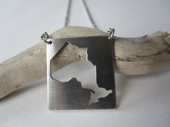 Ontario Necklace  stainless steel by Eighty8Eighty9 on Etsy