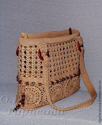 Cada ACTIVIDADES alambre: lana bolsa de crochet -2 -