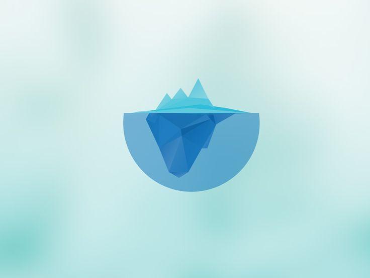 Iceberg by http://dribbble.com/pleuratbytyqi