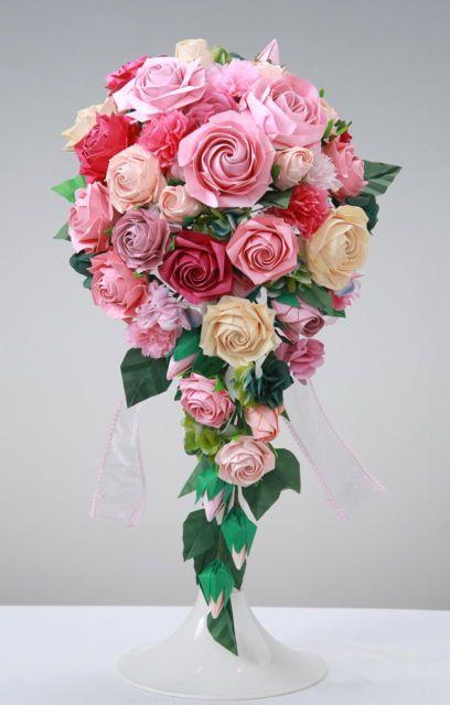 [mixi] ◆折り紙で作る薔薇◆ | ☆彡:*・薔薇の小部屋:*・☆彡