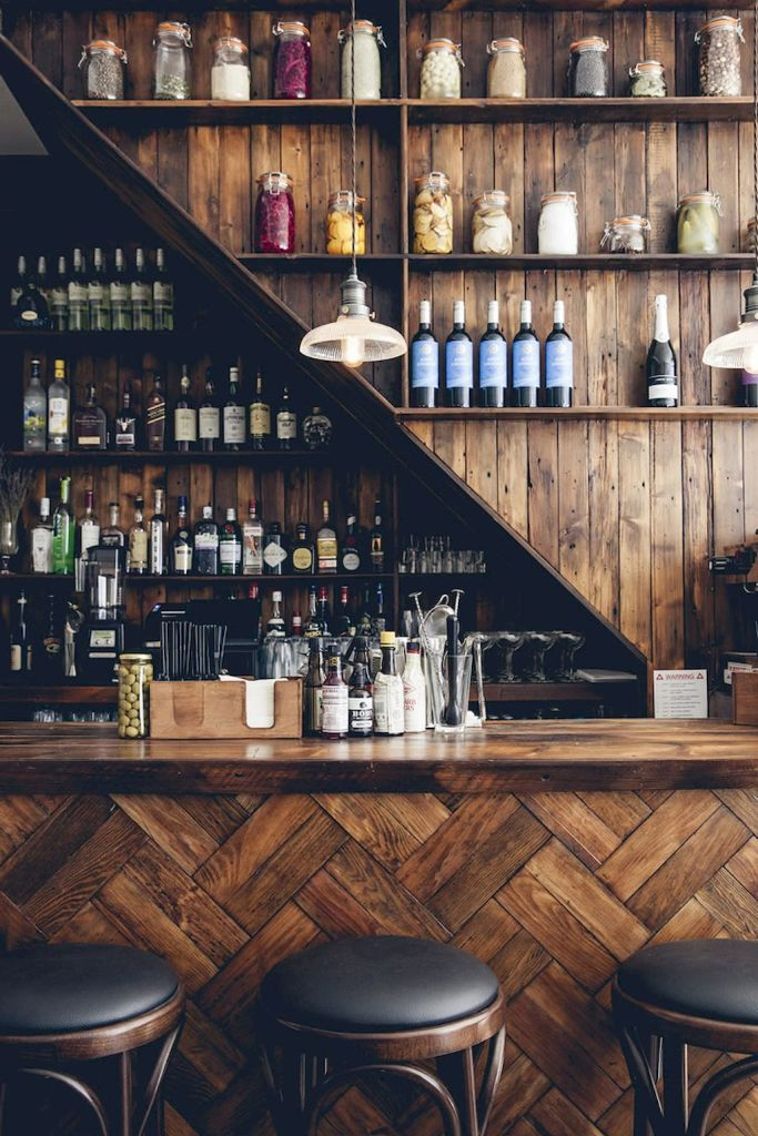 Top 50+ Rustic Bar Ideas