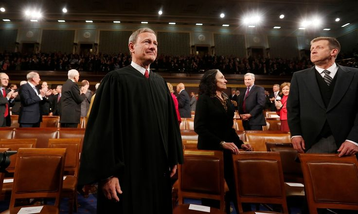 04.11.15 The US supreme court chief justice may not really think the unemployed should sue the undocumented – he thinks fewer folks should get their day in court