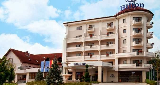 Most exquisite destinations in Romania ~ Romania Tours Hotel hilton Sibiu happilly combines best ingrediends (position, service, staff)getting a fine cake.