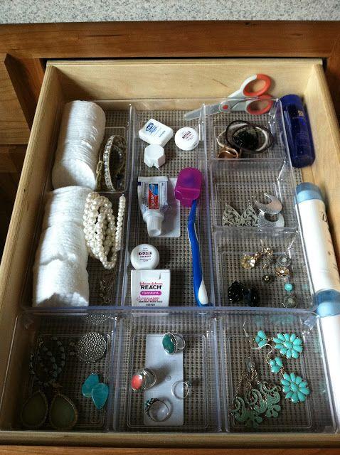 Bathroom Organization. Target Closet/dresser Drawer