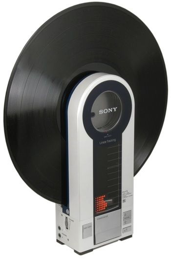 music record -recordplayer #sony #gadget ....OH SO awesome