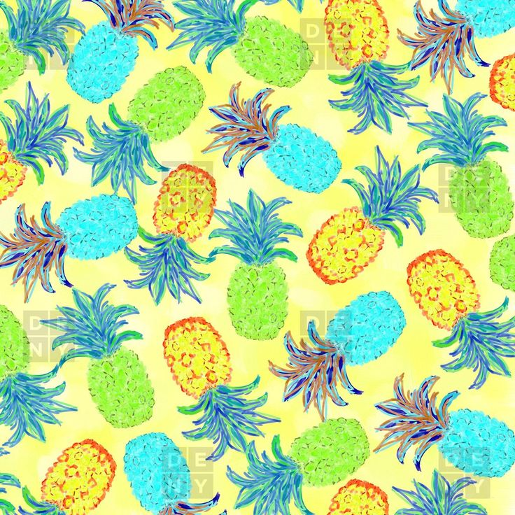 Lisa Argyropoulos Pineapple Pandemonium Yellow Duvet Cover | DENY Designs Home Accessories