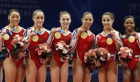These girls are awesome. How can you even compare this to table tennis as an Olympic event? These girls train so hard.