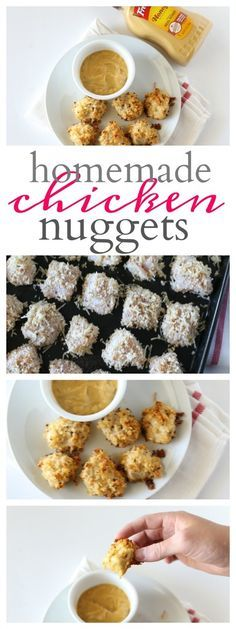 Parmesan Cheese Homemade Chicken Nuggets
