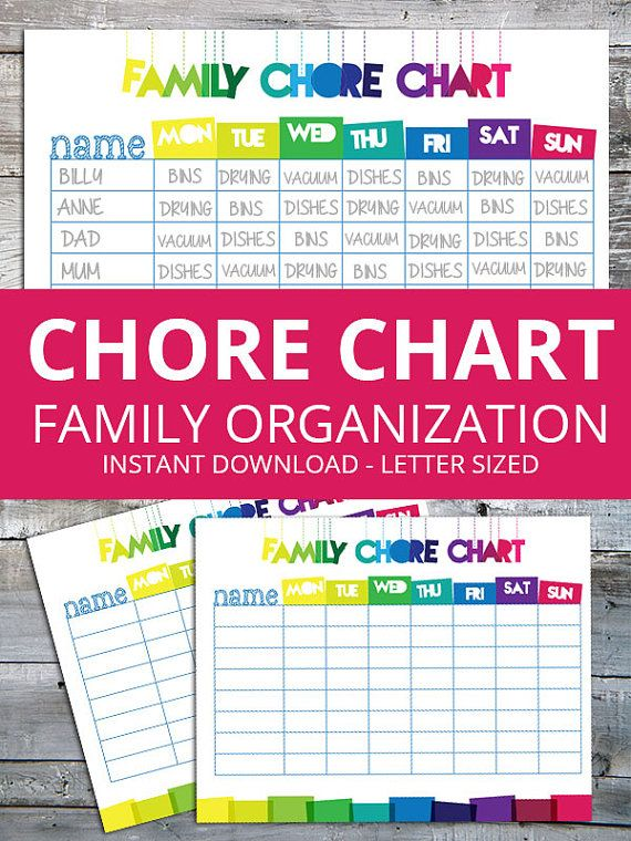 Best 25+ Family chore charts ideas on Pinterest Diy family chore - sample chore chart