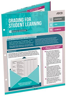 Explore grading and reporting strategies that motivate student learning and accurately reflect student achievement in this guide by Susan Brookhart. Learn ways to communicate clearly about grades and grading and how to involve students in the grading process.