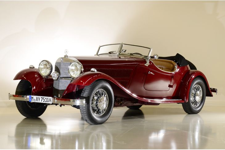 1933 Mercedes-Benz 380 Typ W22 Roadster. Coachwork by Mercedes-Benz Sindelfingen.