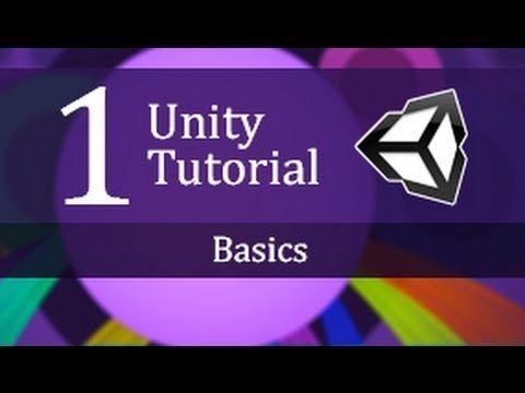 1. Unity Tutorial Basics - Create a Survival Game