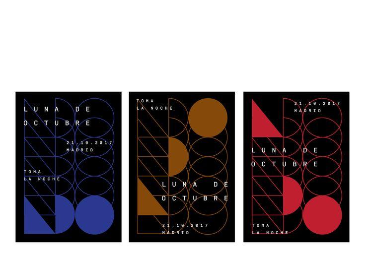 Luna de Octubre - Video art/Mapping Festival Madrid