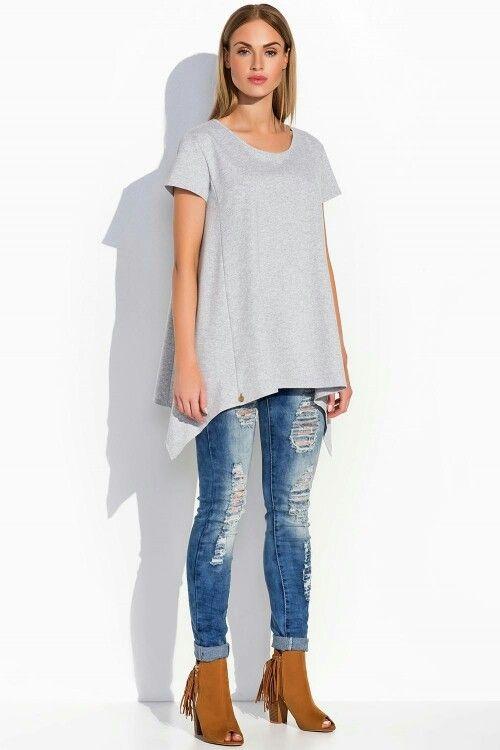 https://www.mokado.pl/Tunika-Makadamia-M283-Grey-p19313 #tunika #moda #odziez #mokado #Fashion #style