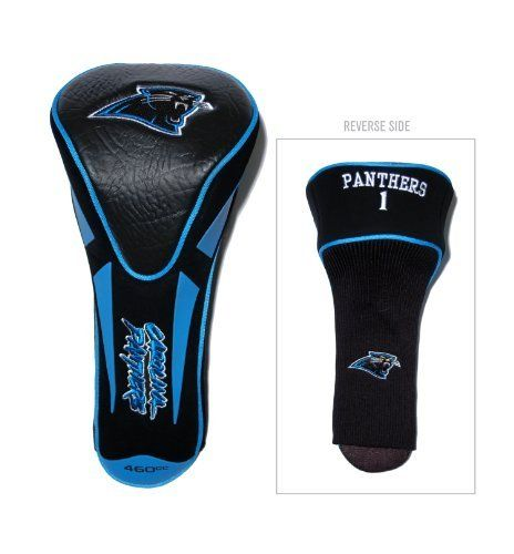NFL Carolina Panthers Single Apex Jumbo Headcover by Team Golf. $19.99. Made of buffalo vinyl and synthetic suede like materials with a truly sleek design. Fits all oversized clubs. Includes 4 location embroidery. NFL Carolina Panthers Single Apex Jumbo Headcover