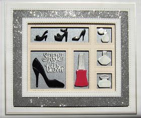 Hi bloggers! I have a really fun shadow box card to share with you today. The Retail Therapy accessory set is great for gals of ...